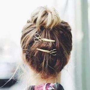 Scissor hairpin set of 2